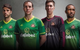 Sunderland 2015-2016 Adidas Away Kit (click to view)