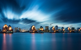 Thames Barrier in London (click to view)