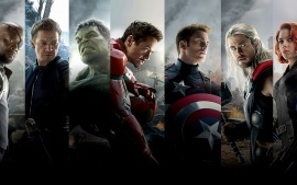 The Avengers Team (click to view)