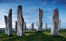 The Callanish Stones In Hebrides Islands