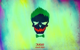 The Joker in Suicide Squad 2016