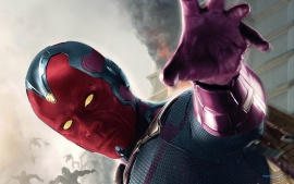 The Vision in 2015 Avengers Age of Ultron