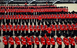 Trooping the Colour, London, England