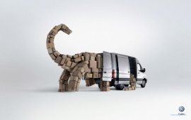 Volkswagen, Crafter, Dinosaur (click to view)