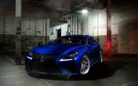 Vossen Blue Lexus RC F 5K (click to view)