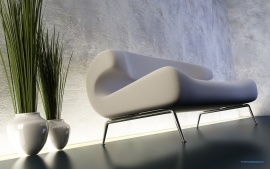 White Sofa Interior Design (click to view)