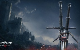 witcher 3 wild hunt swords  (click to view)