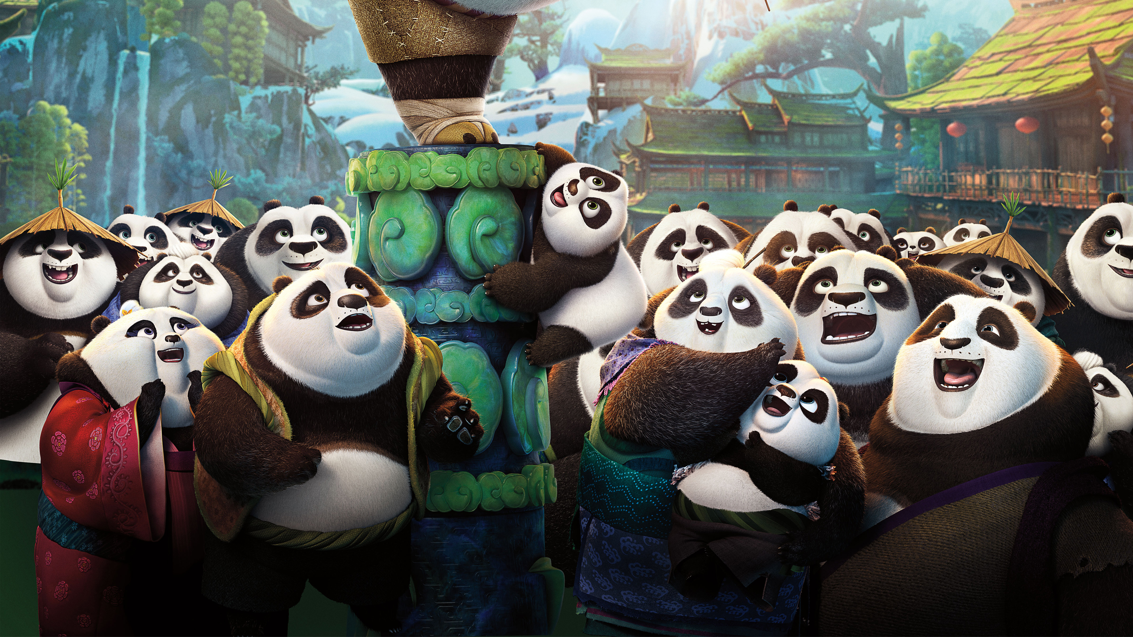 2016 kung fu panda 3 wallpapers