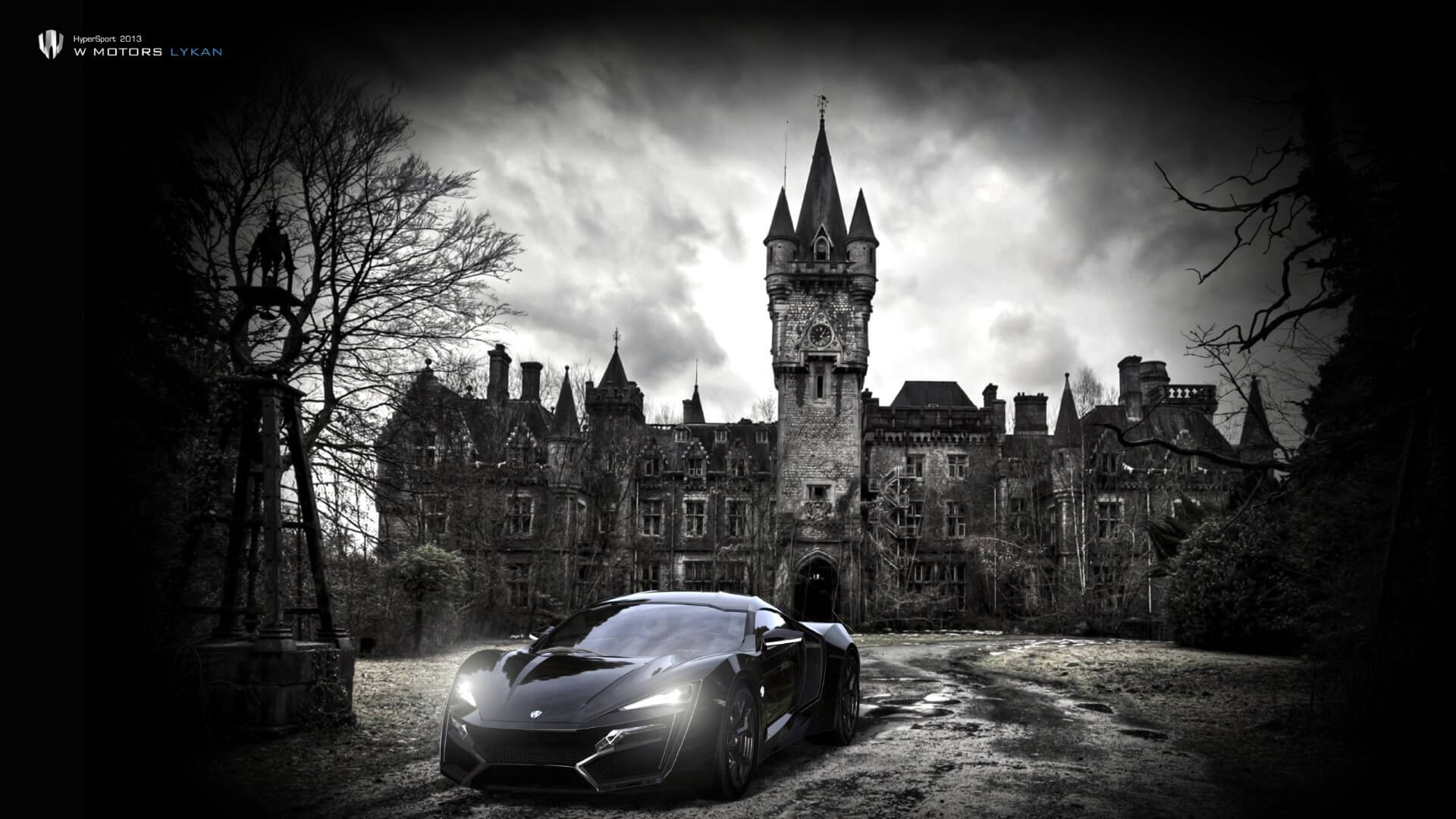 Black Lykan Hypersport wallpapers