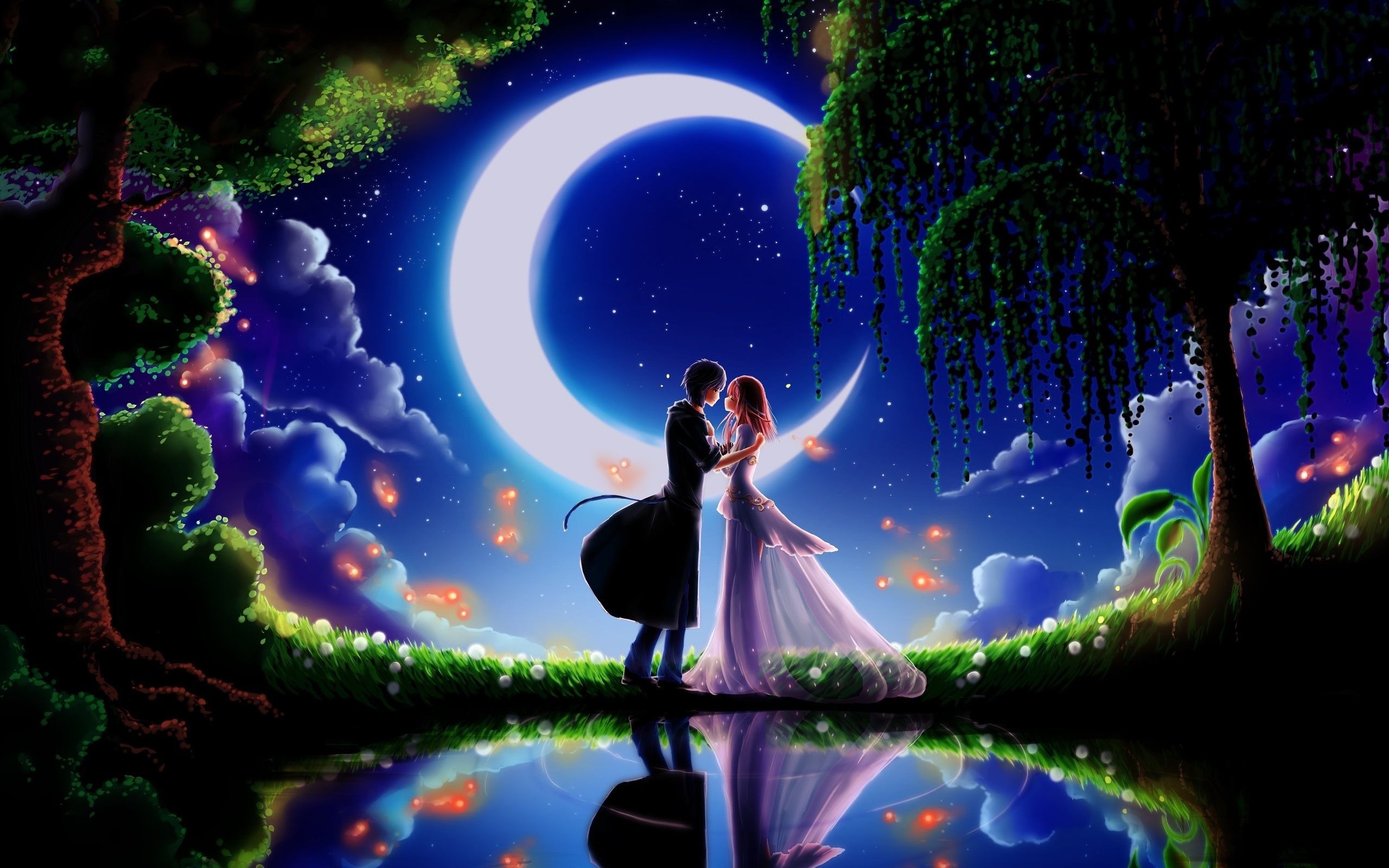 Great Wallpaper Night Couple - couple_in_the_night-wide  Snapshot.jpg