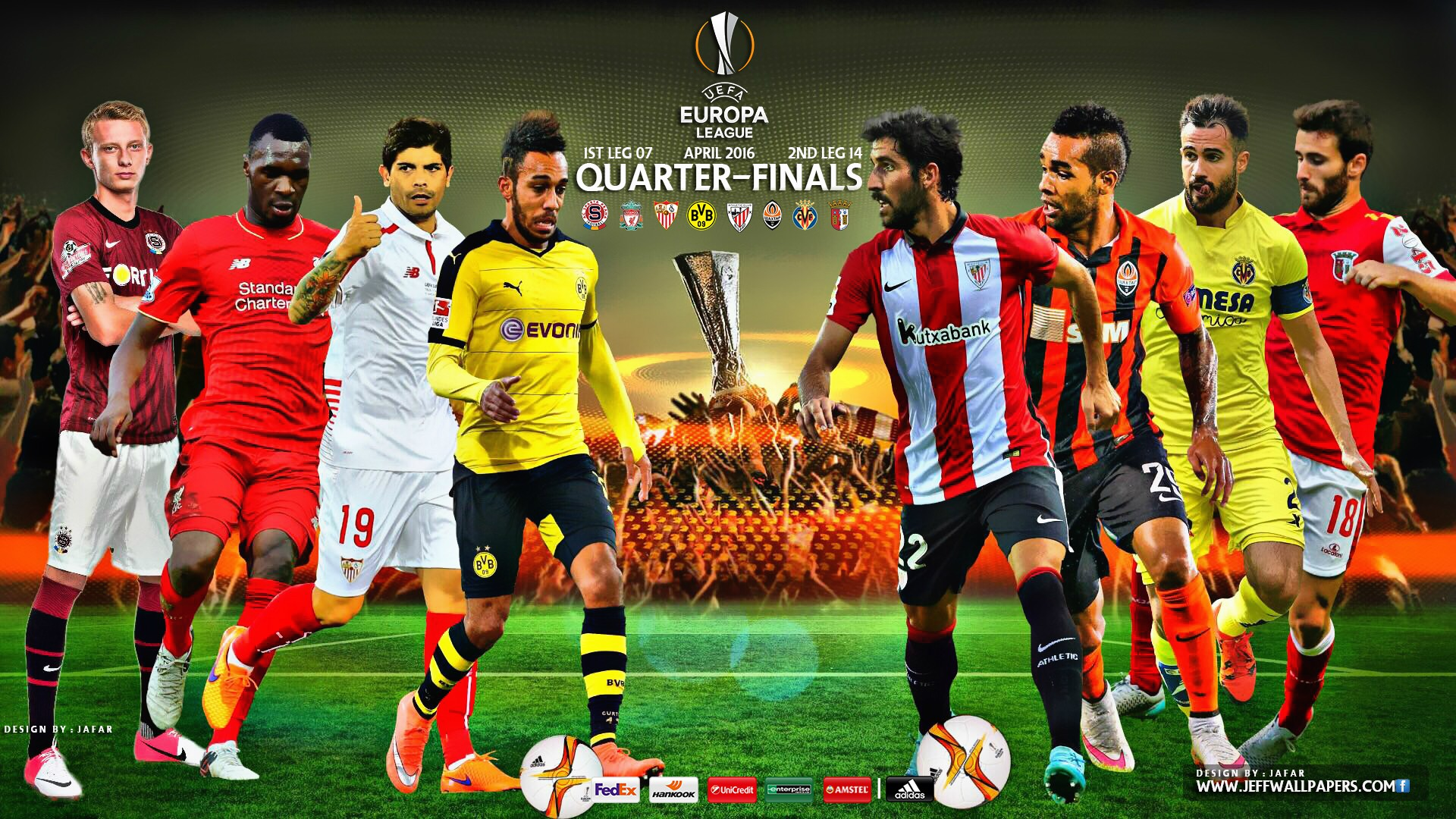 Europa league quarter finals 2016 wallpapers