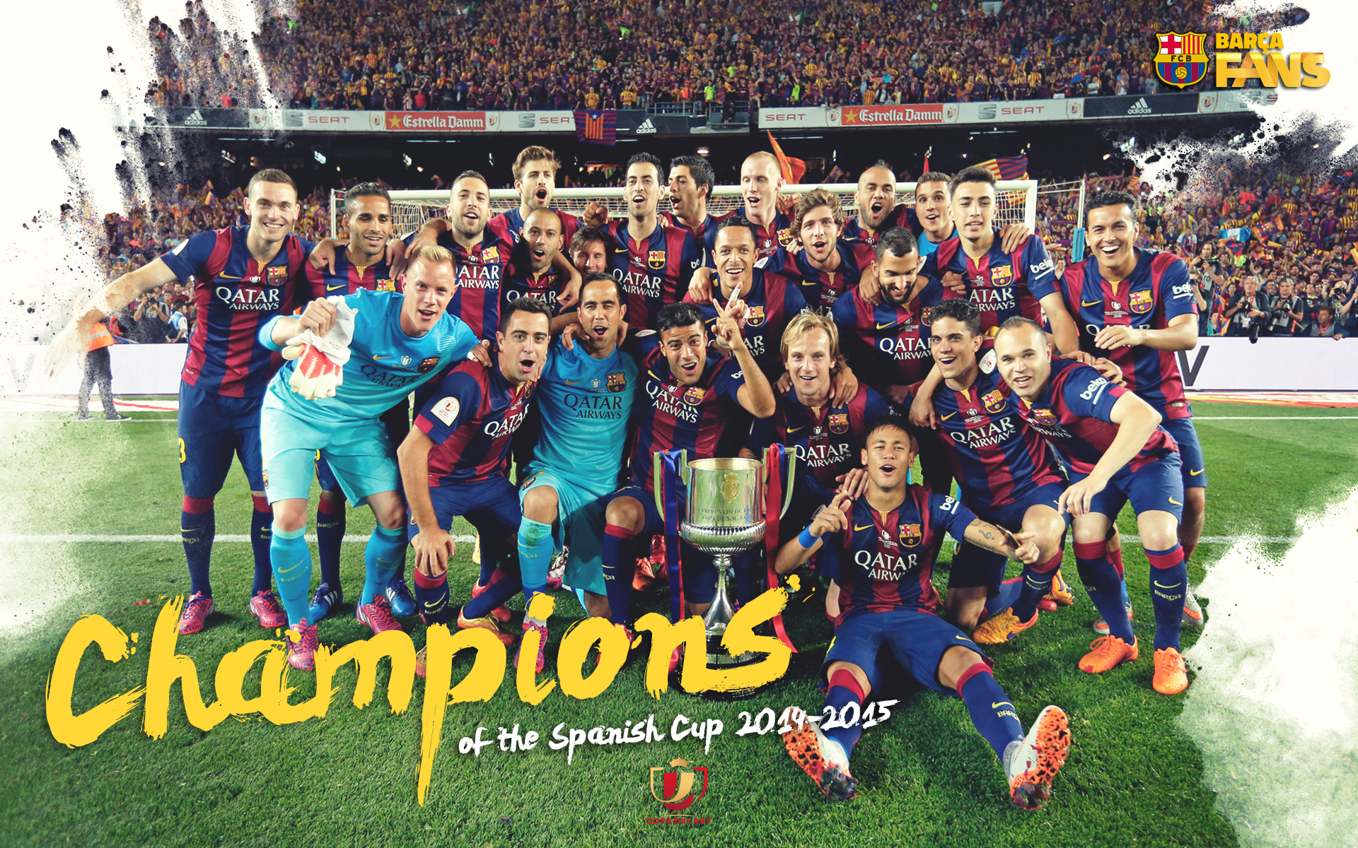 FC Barcelona 2015 Champions League Winners (click to view)