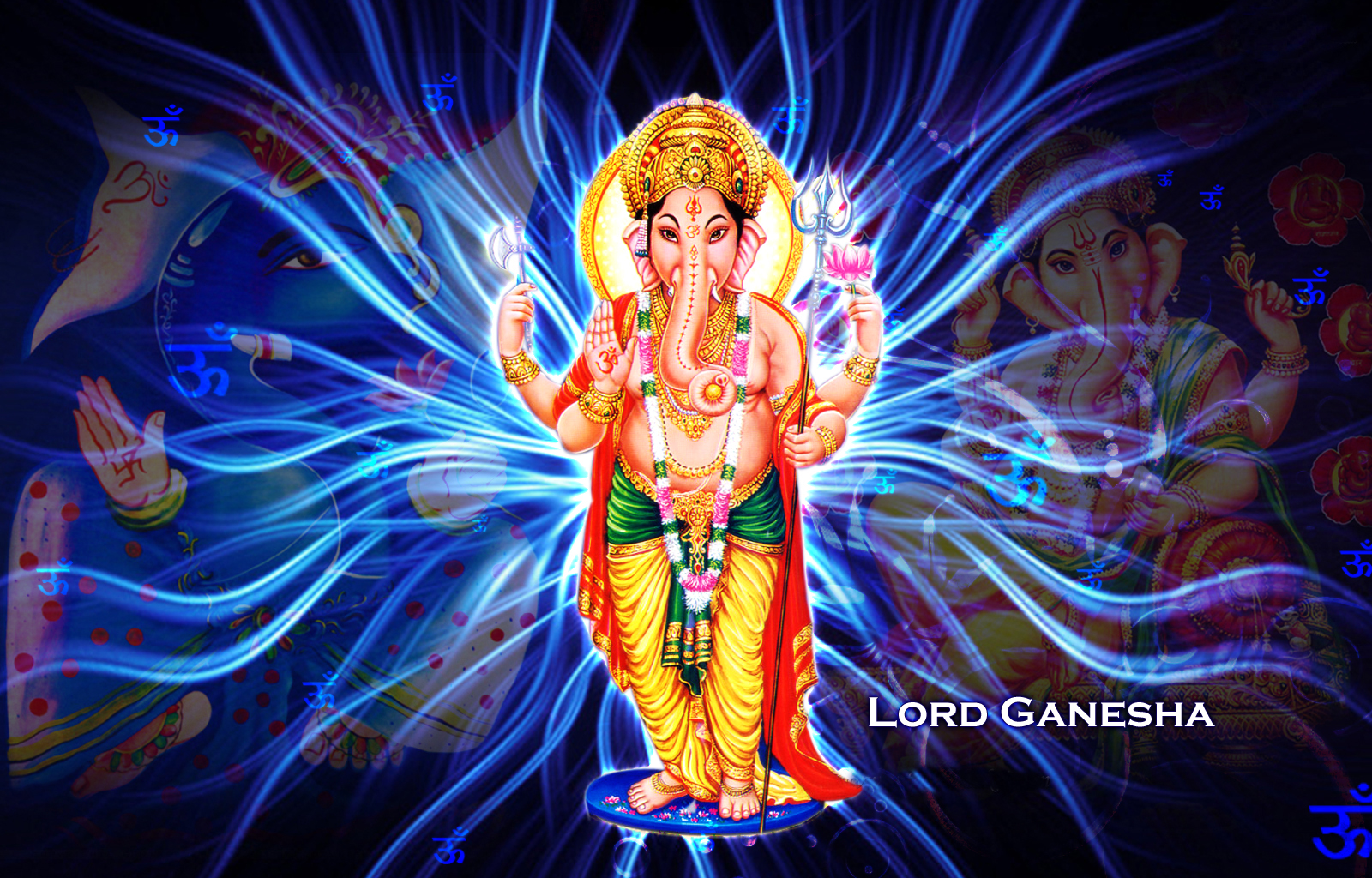 Description Download Lord Ganesha HD Artificial Creation Wallpapers