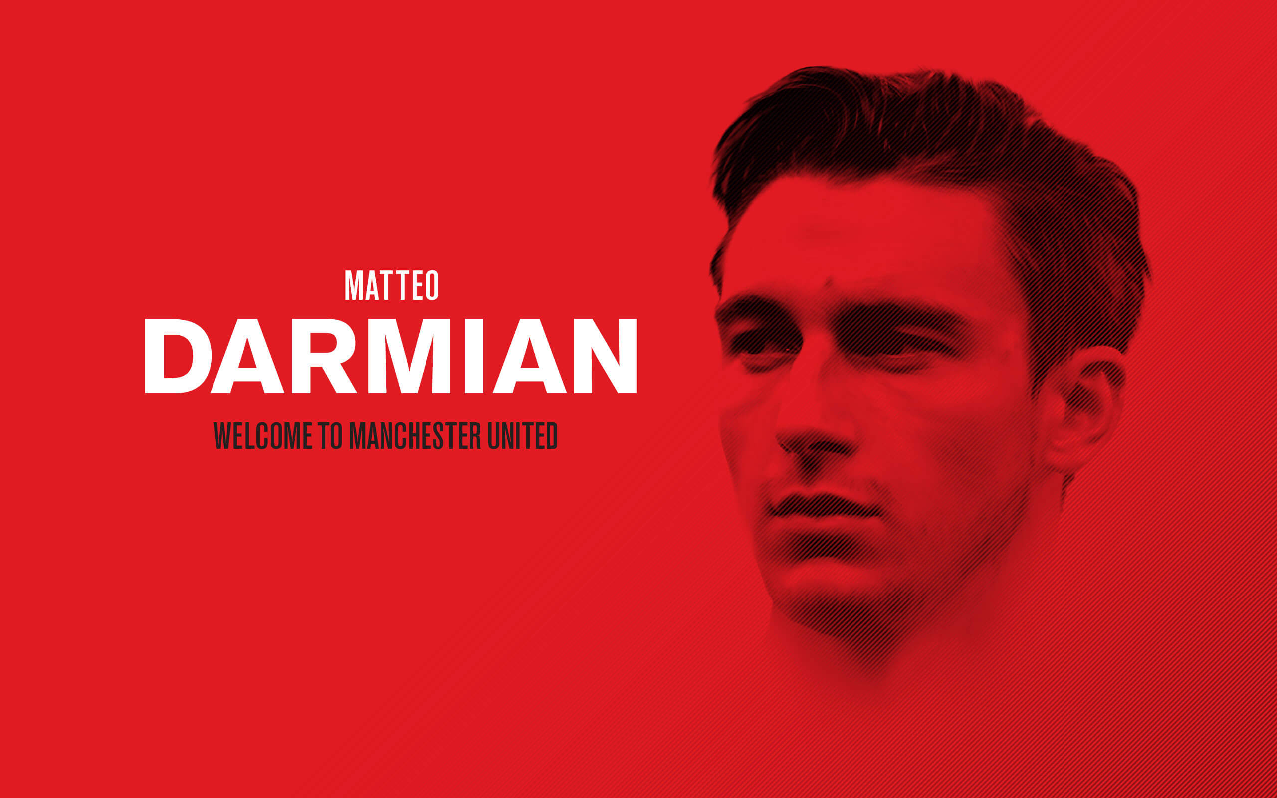 Matteo Darmian Wallpaper: Matteo Darmian 2015 Welcome To Manchester United Wallpapers