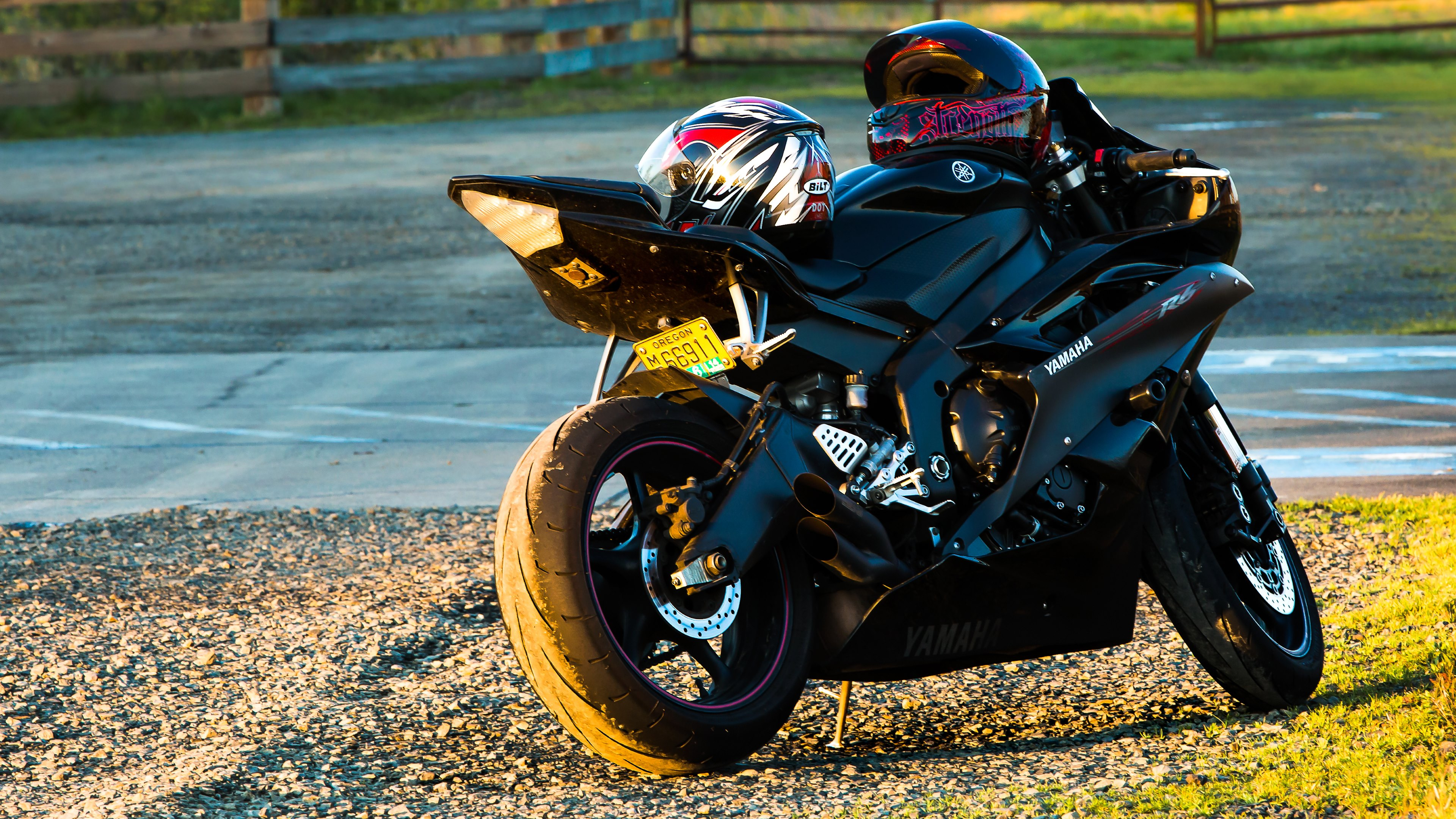 Motorcycle. Super Bike. Yamaha R6